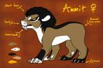 Ammit Evoloon 2 (EVOLOONS) by CoffeeAddictedDragon