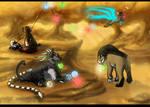 EVENT: Glow Festival. PT 1 (EVOLOONS) by CoffeeAddictedDragon