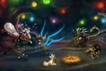EVENT: Glow Festival. PT 2 (EVOLOONS) by CoffeeAddictedDragon