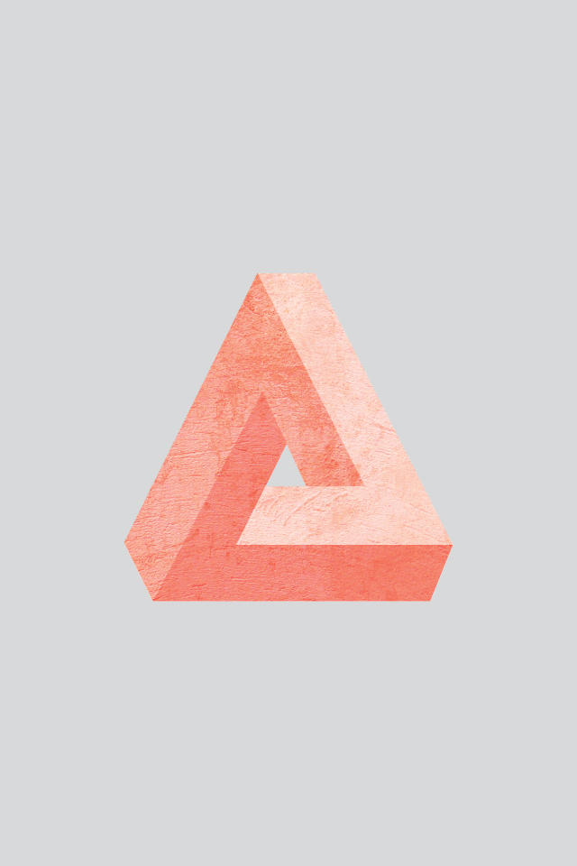 Impossible Triangle Iphone Wallpaper