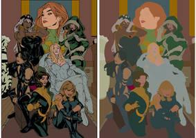 X-girls 2 by artmunki