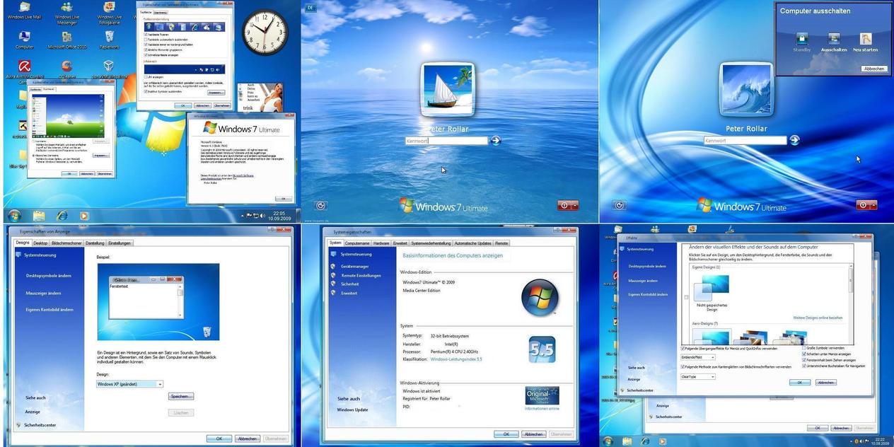Win7 blue Sky XP Complete UPD by PeterRollar