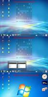 SBar Win7 Win8 XP skins by PeterRollar