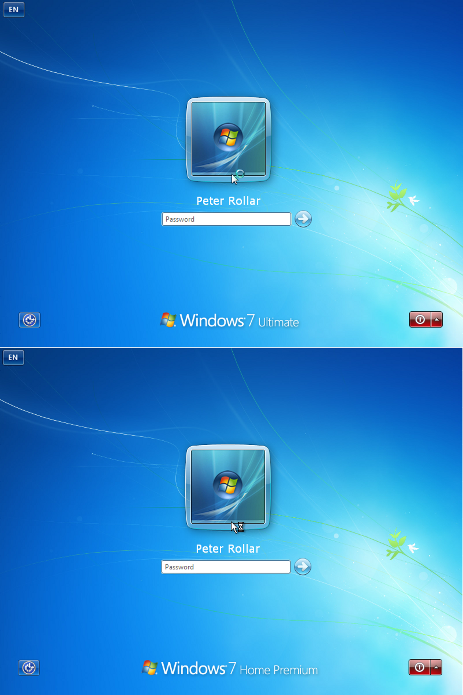 Win7 RTM Logon XP EN by PeterRollar