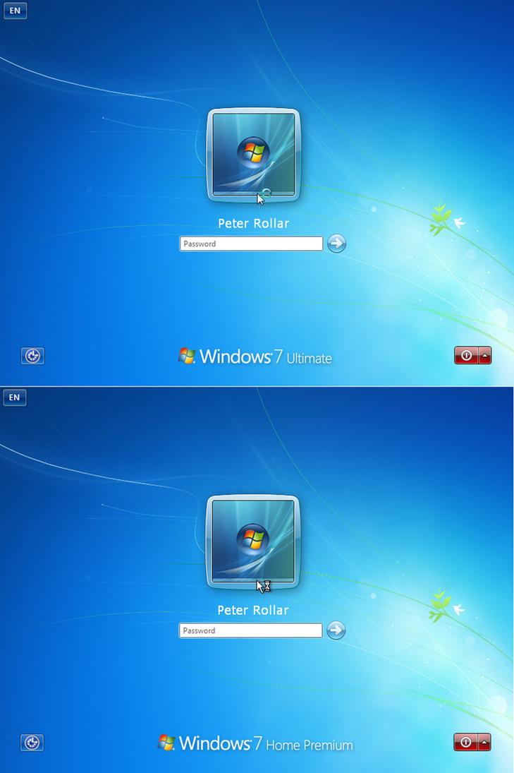 Win7 RTM Logon XP EN by PeterRollar