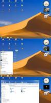 Glassy XP Win7 style