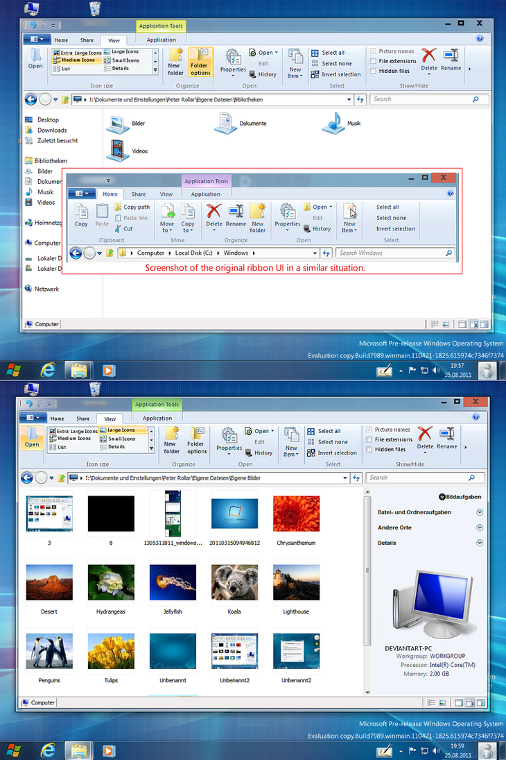 Windows8 ribbon UI for styler by PeterRollar