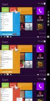 Startmenu Windows8 style