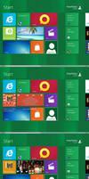 Windows8 tile for CD Art Display
