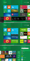 Another Windows8 startscreen V2.0 by PeterRollar