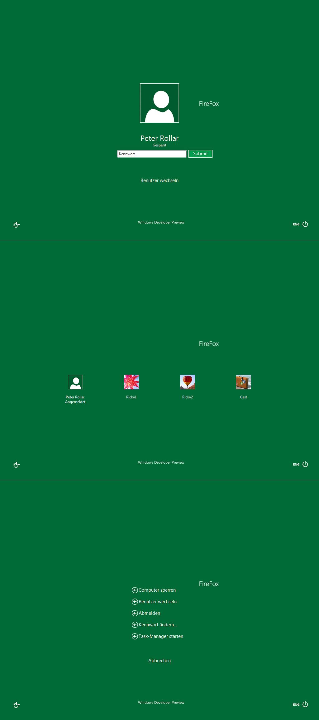 Windows8 logon for 7
