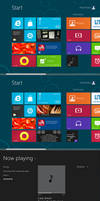 Windows 8 music player beta