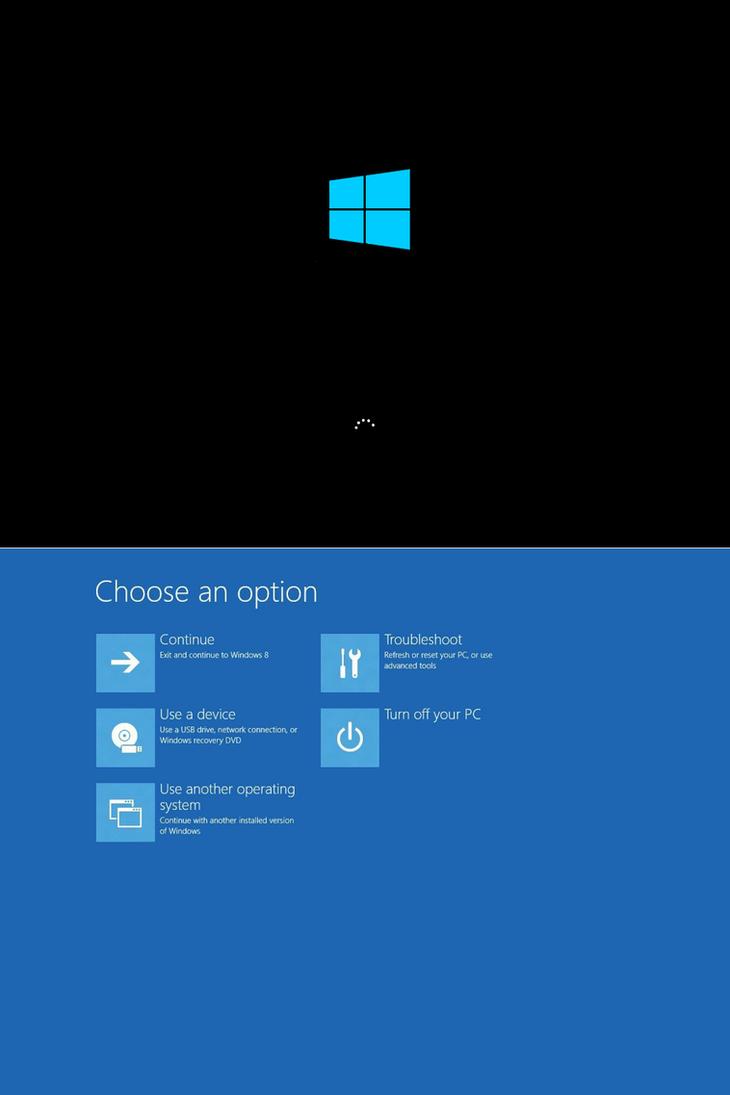 Windows8 RTM Bootup by PeterRollar