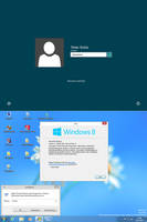 Windows8 RTM logon for Windows7 by PeterRollar