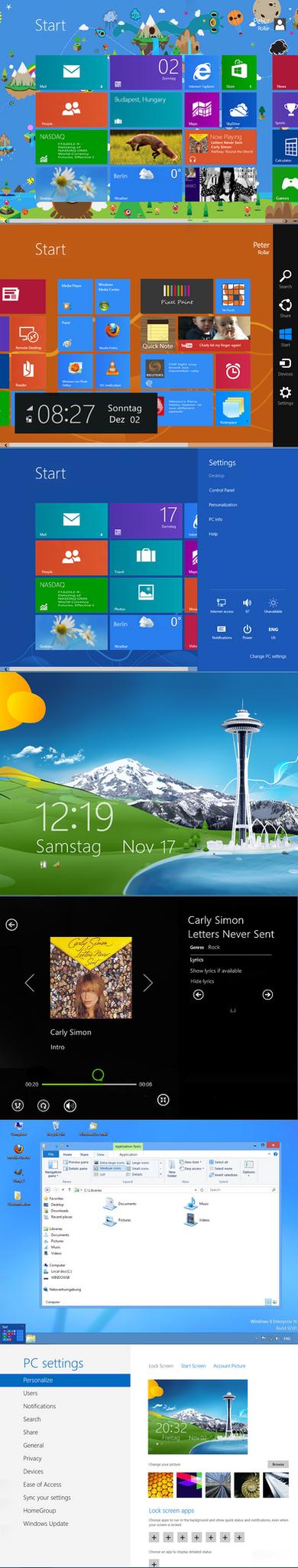 Windows 8 RTM Startscreen SDK by PeterRollar