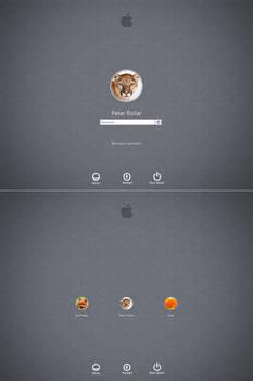 OSX Mountain Lion logon for Windows7