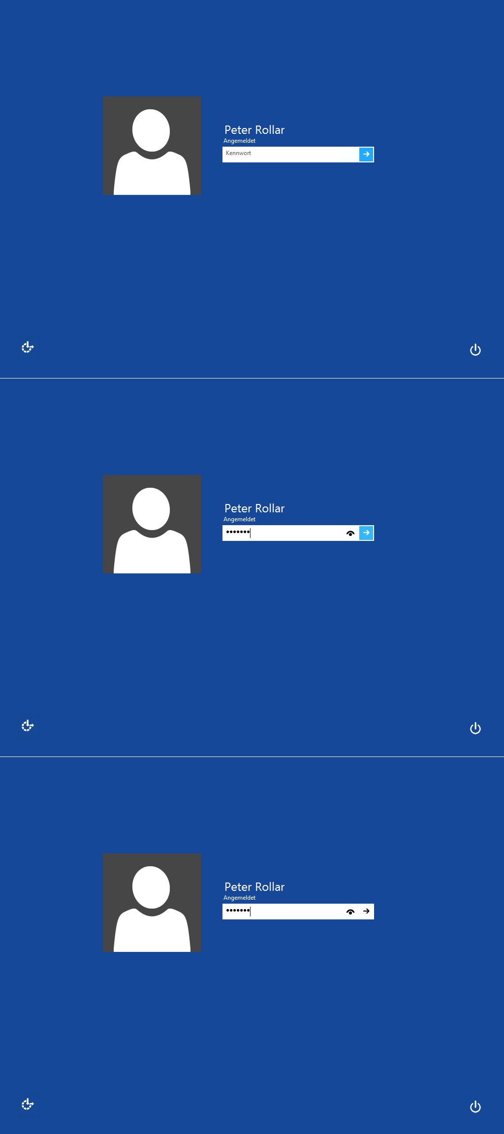 Windows8/Windows10 Blue logon for Win7