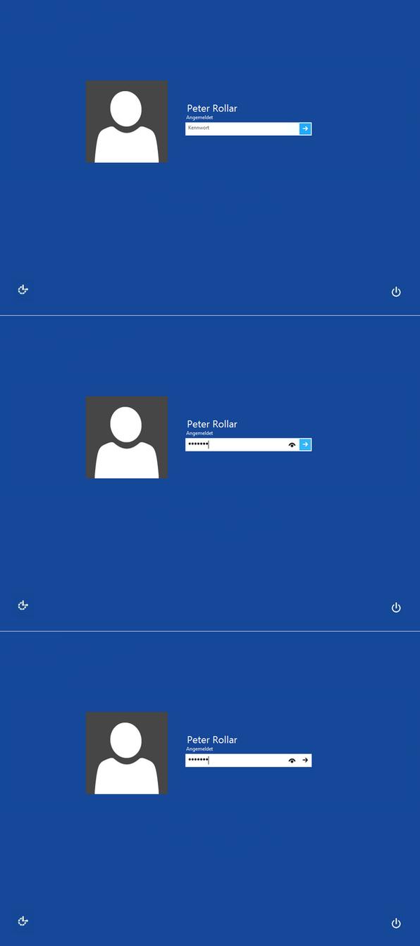 Windows8/Windows10 Blue logon for Win7 by PeterRollar