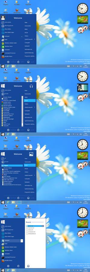 Windows8 blue start