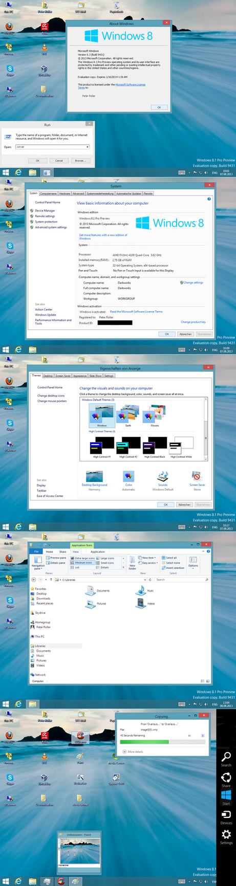 Win8.1 Transformation pack untuk Windows XP   Tutorial