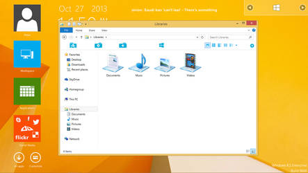 Modern UI toolbar for Windows 8.1 and others