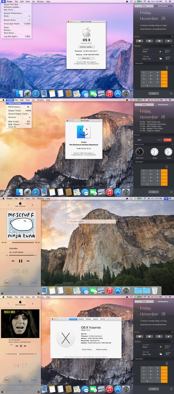 OSX Yosemite Finderbar 2.0 for all Windows OS by PeterRollar