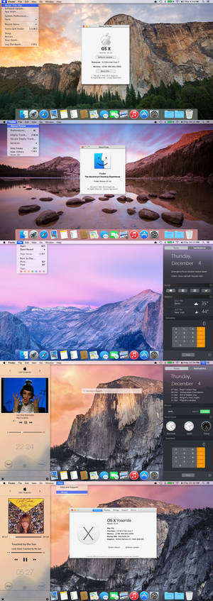 OSX Yosemite transformation for all Windows OS