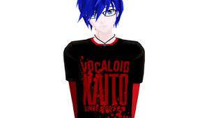 MMD - VOCALOID KAITO by Ayumichigolove
