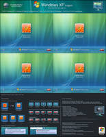 Windows XP Big Frames v5 by mjamil85