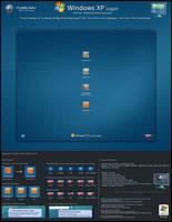 Blue Vista - XP S. Logon v1 by mjamil85
