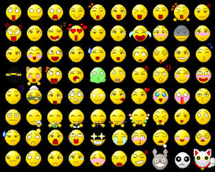 Anime Emoticons ( NEW EMOTICONS!!! )