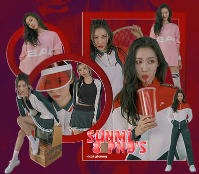 Png Pack | Sunmi - 8 png's by xKatyBunny