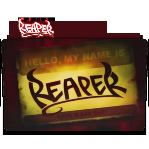 Reaper tv series folder icons by greghagy on DeviantArt