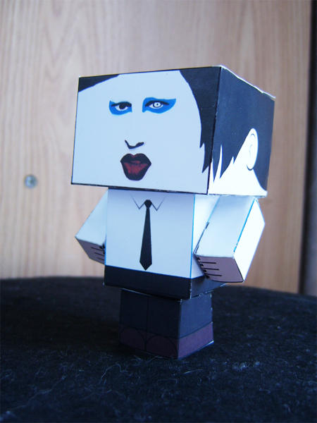 Marilyn Manson Cubee by 14th-division