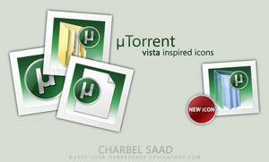 uTorrent Vista Inspired Icons