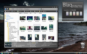 Blaq - Vista Basic Theme by darkredbbb