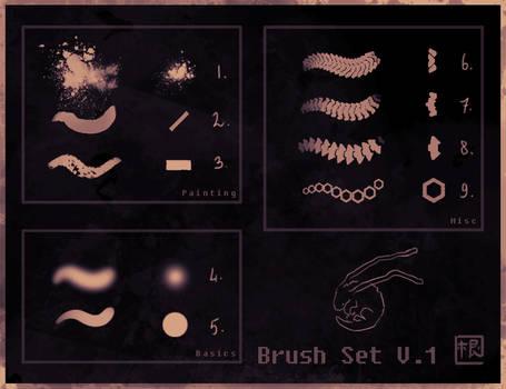 Dave's brushes v1 (PS)