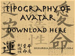 Avatar Font (Herculanum) by SolKorra