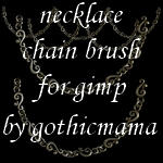 necklace chain brush for gimp by Gothicmamas-stock