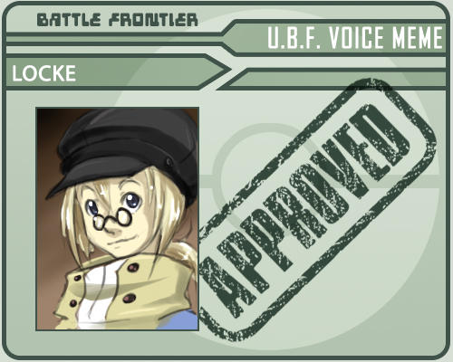 Battle Frontier Voice Meme by Lanmana