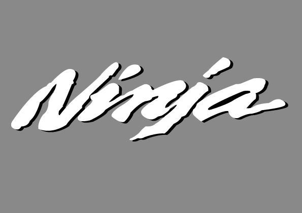 Kawasaki Ninja Logo By Rip Stick Racer