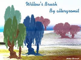 Willows' Brush by altergromit