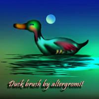 Duck Brush by altergromit