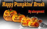 Happy Pumpkins Brush