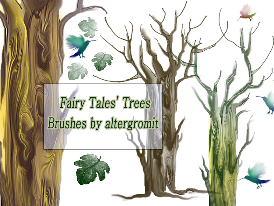 Fairy Tales' Tree Brushes