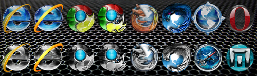 Solace Browser Icons by quicksilver20