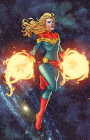 Captain Marvel - SotoColor by JamieFayX
