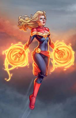 Captain Marvel Takes Flight