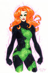Poison Ivy - Hand-colored