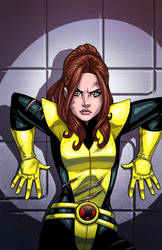 Kitty - Uncanny XMEN 168 Recreation